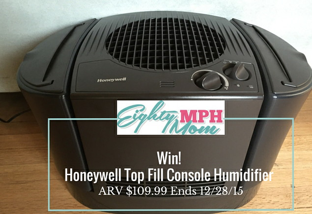 Eight MPH Mom Honeywell Top Fill Console Humidifier Giveaway