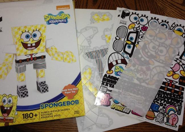 Paper Punk Spongebob