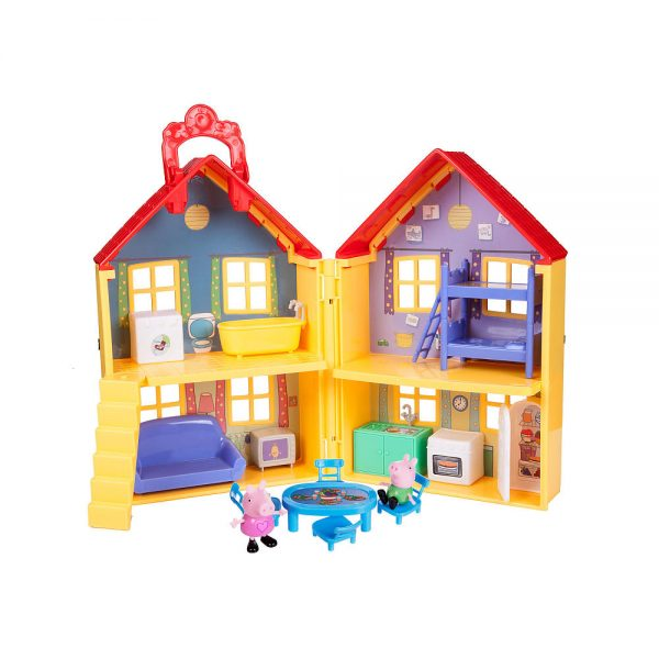 Peppa Pig's Deluxe House Playset