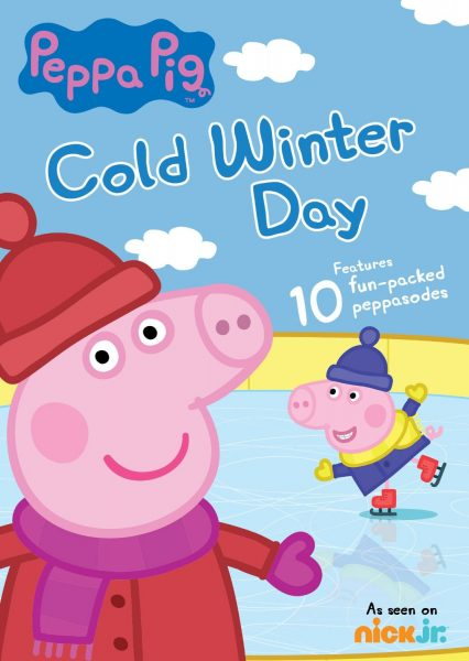 Peppa Pig Cold Winter Day DVD