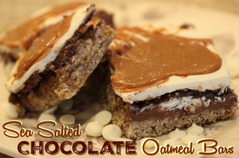 Sea Salted-Chocolate-Oatmeal-Bars