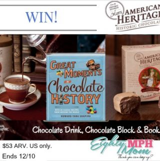 american heritage chocolate giveaway