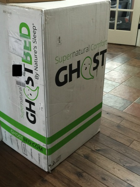 ghostBed in box