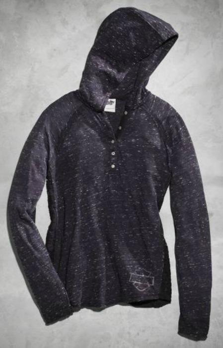 harley davidson grey women's hoodie