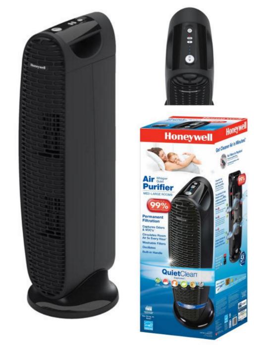 honeywell quiet air purifier