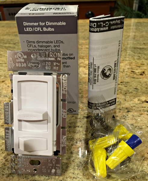lutron dimmer switch installation
