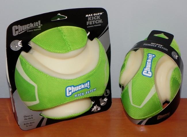 Chuckit! Max Glow Fumble Fetch & Max Glow Kick Fetch