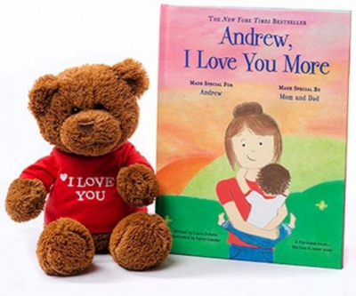 I Love You More gift set (Giveaway)