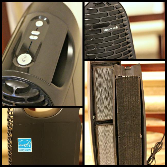 honeywell QuietClean Air purifier