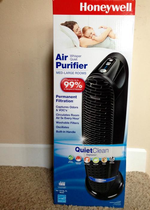 honeywell whisper quiet air purifier