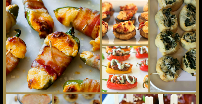 Wow your friends with these tasty Super Bowl finger foods & appetizers!