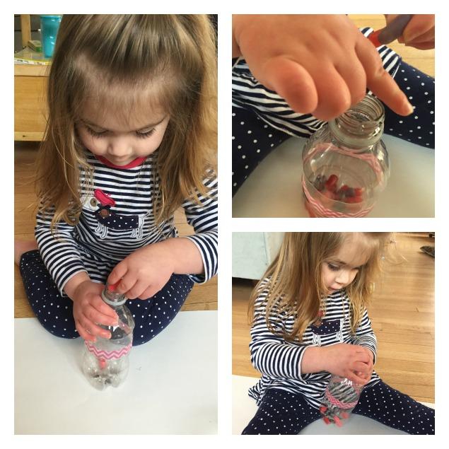 Easy Toddler Music Maker Collage