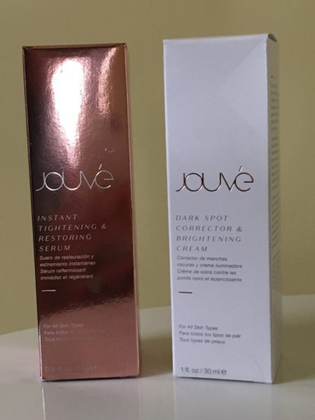 Jouve anti-aging products