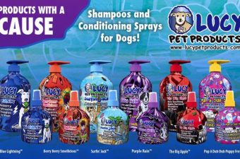 Lucy Pet Products with a Cause – Keep Your Pet Looking Great!