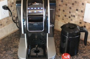 The Perfect Cup, Every Time with Touch T526S Single-Serve System ARV $249.99