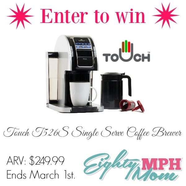 Touch T526S Giveaway Graphic