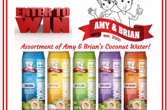 Amy & Brian Coconut Water