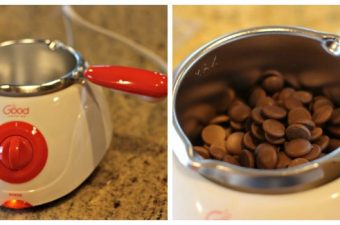 Good Cooking Chocolate Melting Pot – perfect for Valentine's Day!