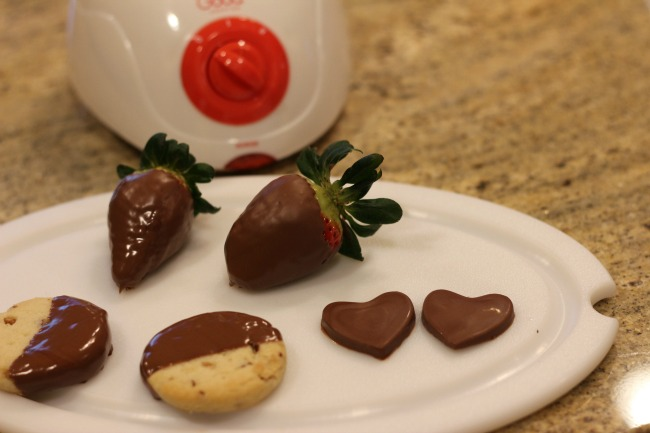 how to make chocolate candy hearts