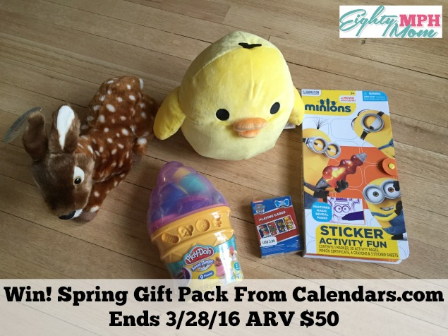 Calendars Prize Pack