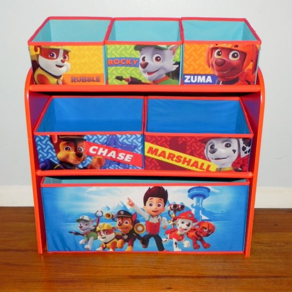 Paw Patrol Toy Organizer Bin Cubby Kids Child Storage Box: Get Organized With Help From Delta Children And PAW Patrol