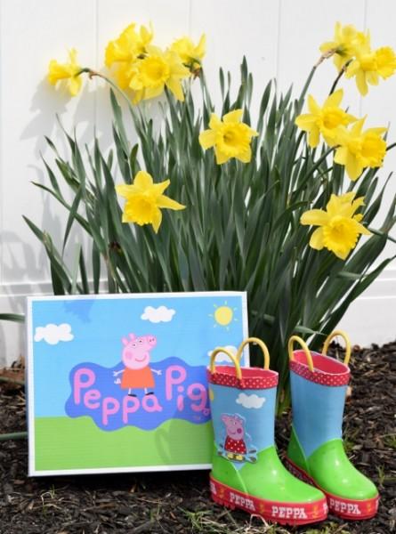 Peppa Pig Rain Boots
