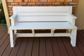 Convert-A-Bench … It's a Picnic Table and a Bench!