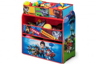 Get Organized with Help from Delta Children and PAW Patrol