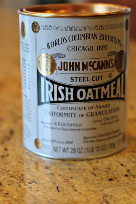 McCann's Steel Cut Irish Oatmeal,#McCannsIrishOats