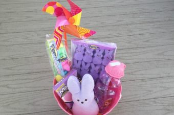 A Perfectly Pink & Purple Easter Basket With PEEPS & COMPANY®