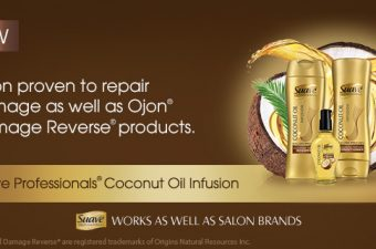 NEW Suave Professionals® Coconut Oil Infusion Damage Repair system
