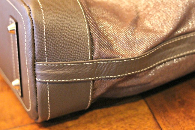 claudia g purse stitching