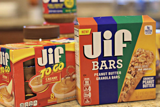 jif to go snacks
