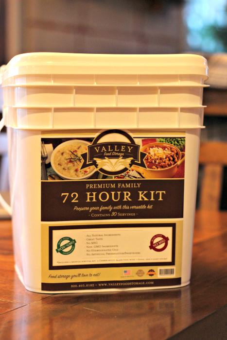 valley food storage 72 hour kit