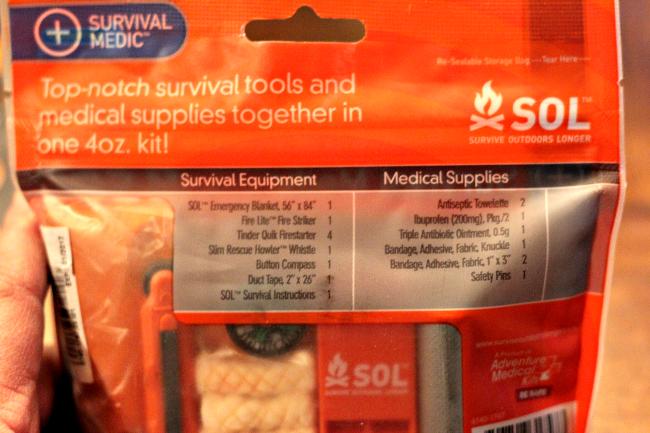 valley food storage medical supplies