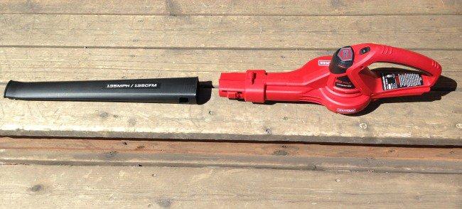 Craftsman 24V Max Li-Ion 135 MPH Cordless Sweeper blower
