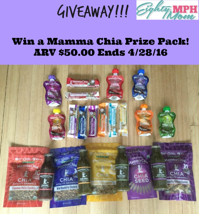 Mamma Chia Giveaway PHoto