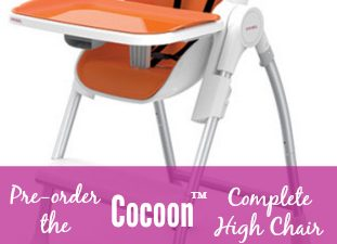 Pre-Order the Oribel Cocoon™ Complete High Chair! + DISCOUNT CODE