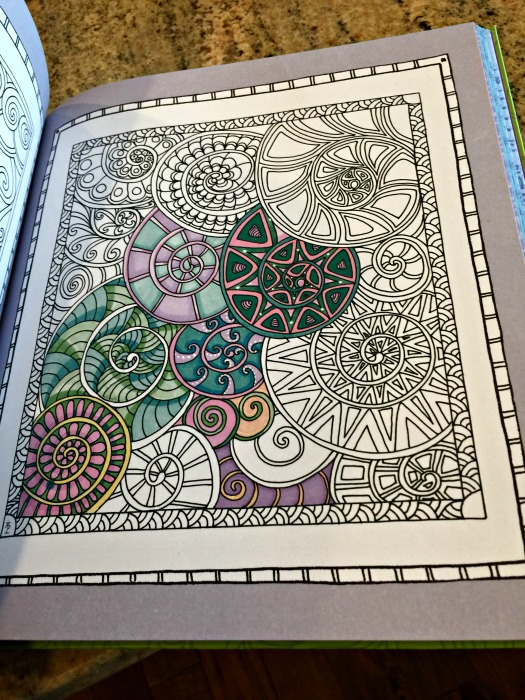 Color Me Stress Free Inside Of Book