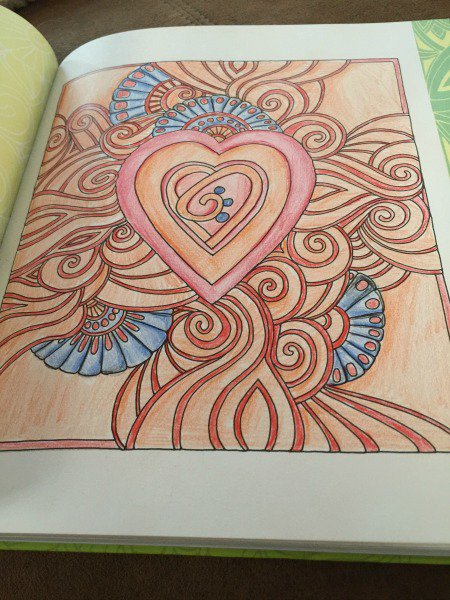 color me stress free page