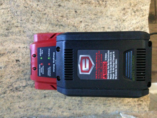 craftsman sweeper battery
