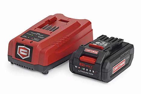 craftsman sweeper battery and charger