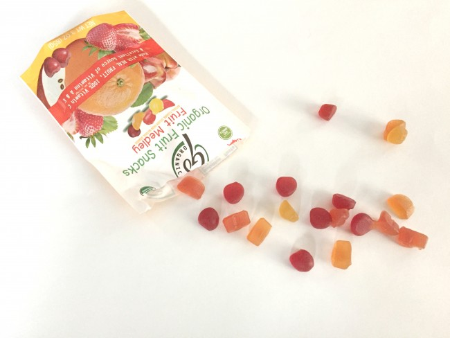 goOrganic Fruit Snacks