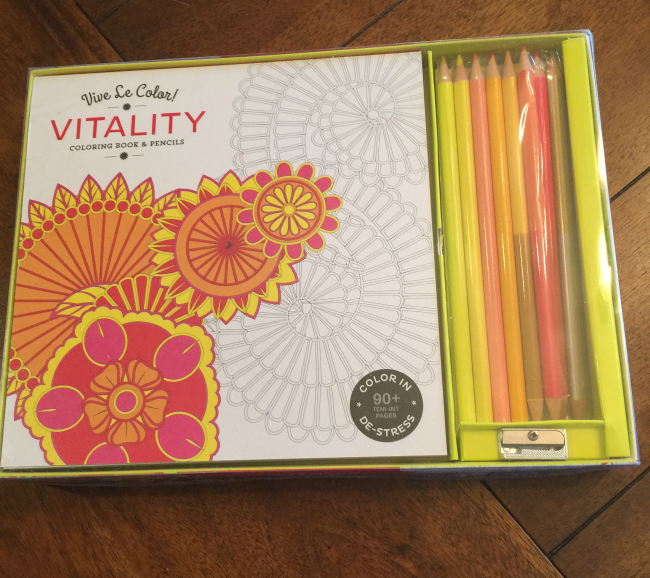 vive le color vitality coloring book