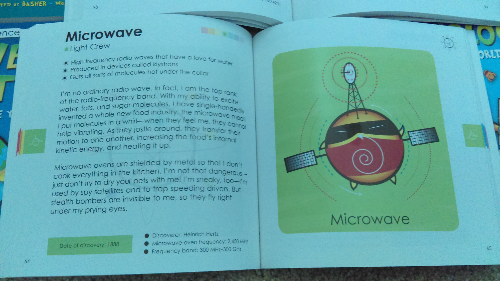 Having Fun Learning Science with Basher Books