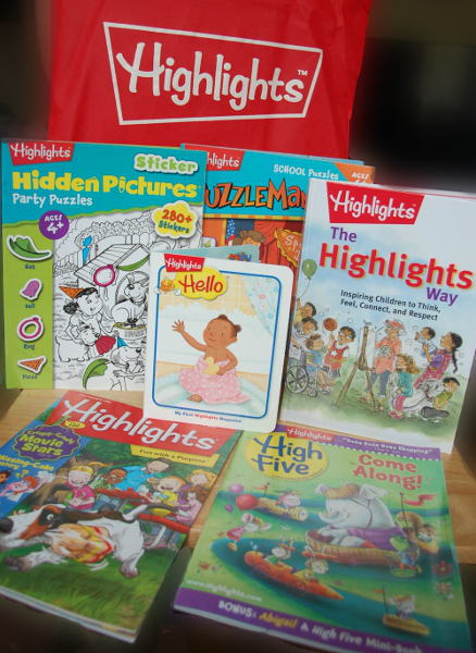 highlights magazine giveaway
