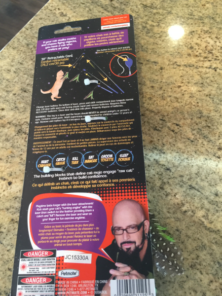 Jackson galaxy petmate collection of cat toys at petsmart for Jackson galaxy petsmart