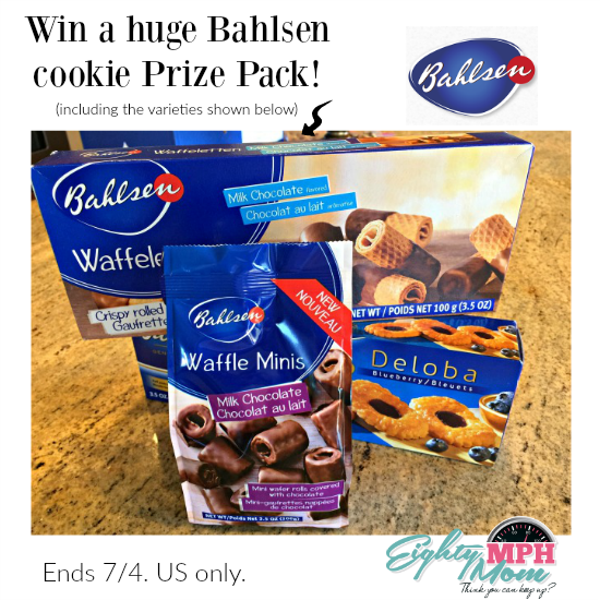 bahlsen cookie prize pack