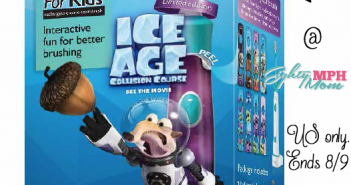 sonicare ice age toothbrush giveaway