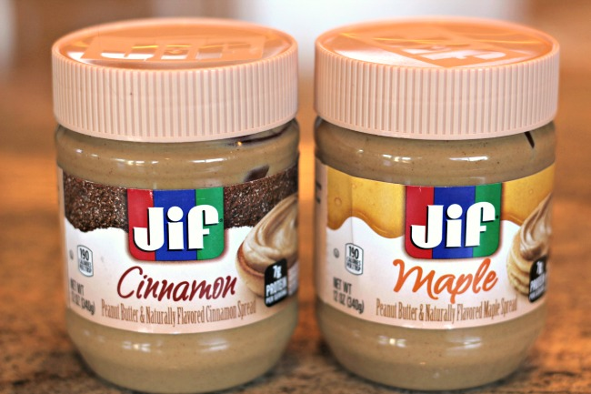 Jif flavored peanut butter spreads